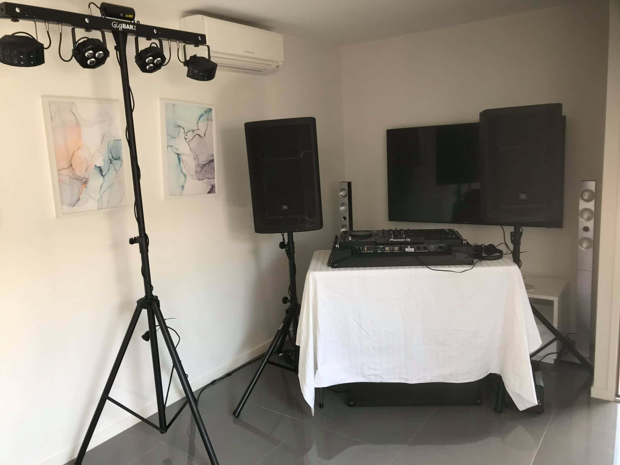 Mountain Creek 30th Birthday DJ Package | AV Hire