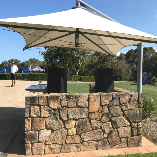 Sunshine Coast Golf Course Tournament PA System | AV Hire
