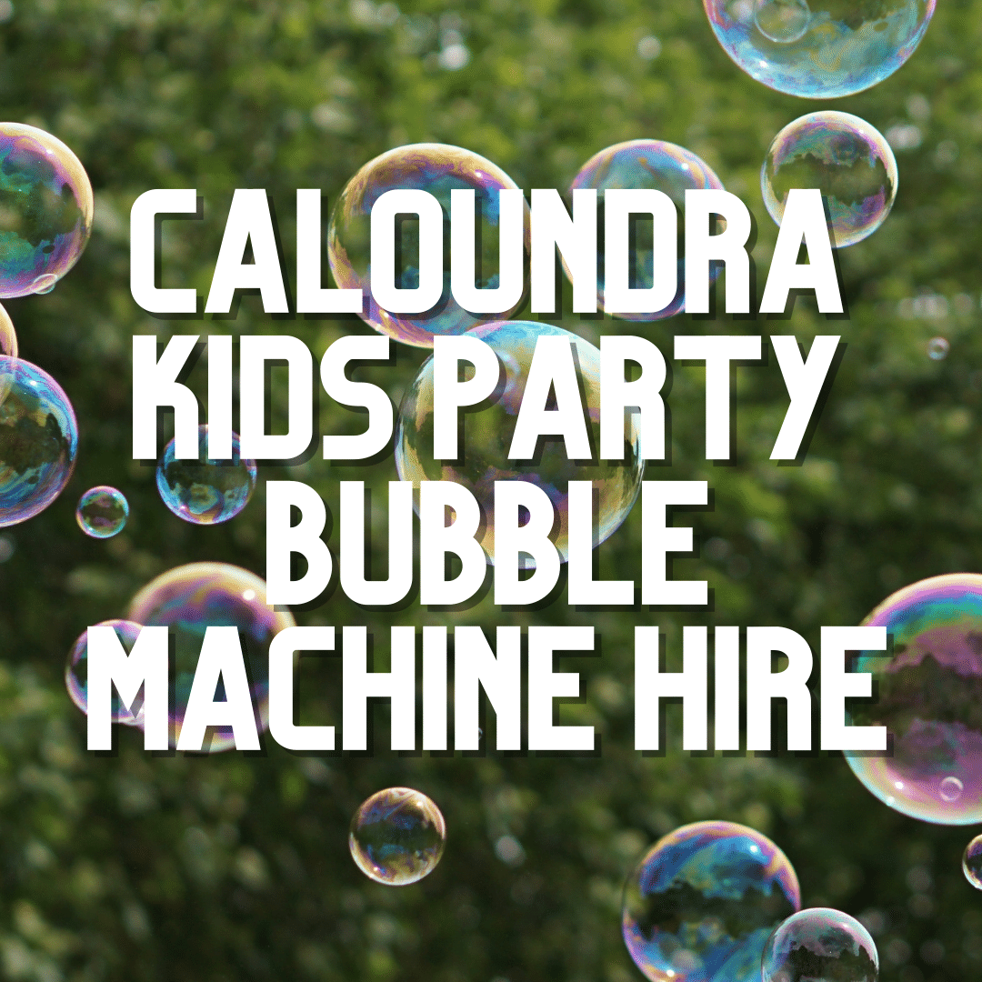 Caloundra Kids Party Bubble Machine | AV Hire
