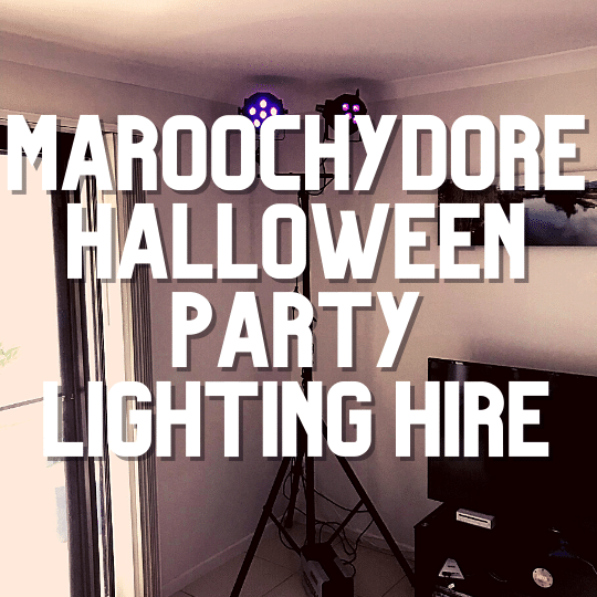 Maroochydore Halloween Party Lighting | AV Hire