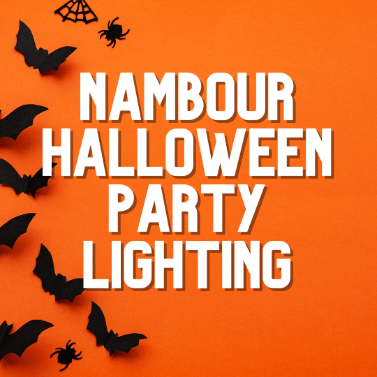 Nambour Halloween Party Lighting | AV Hire