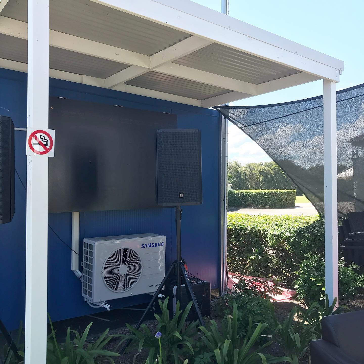 Pelican Waters Beer Garden PA System | AV Hire