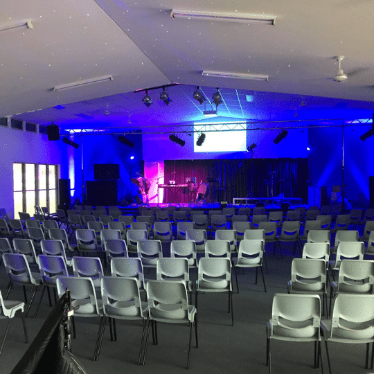 Lakeshore Church Buderim Christmas Carols PA System | AV Hire