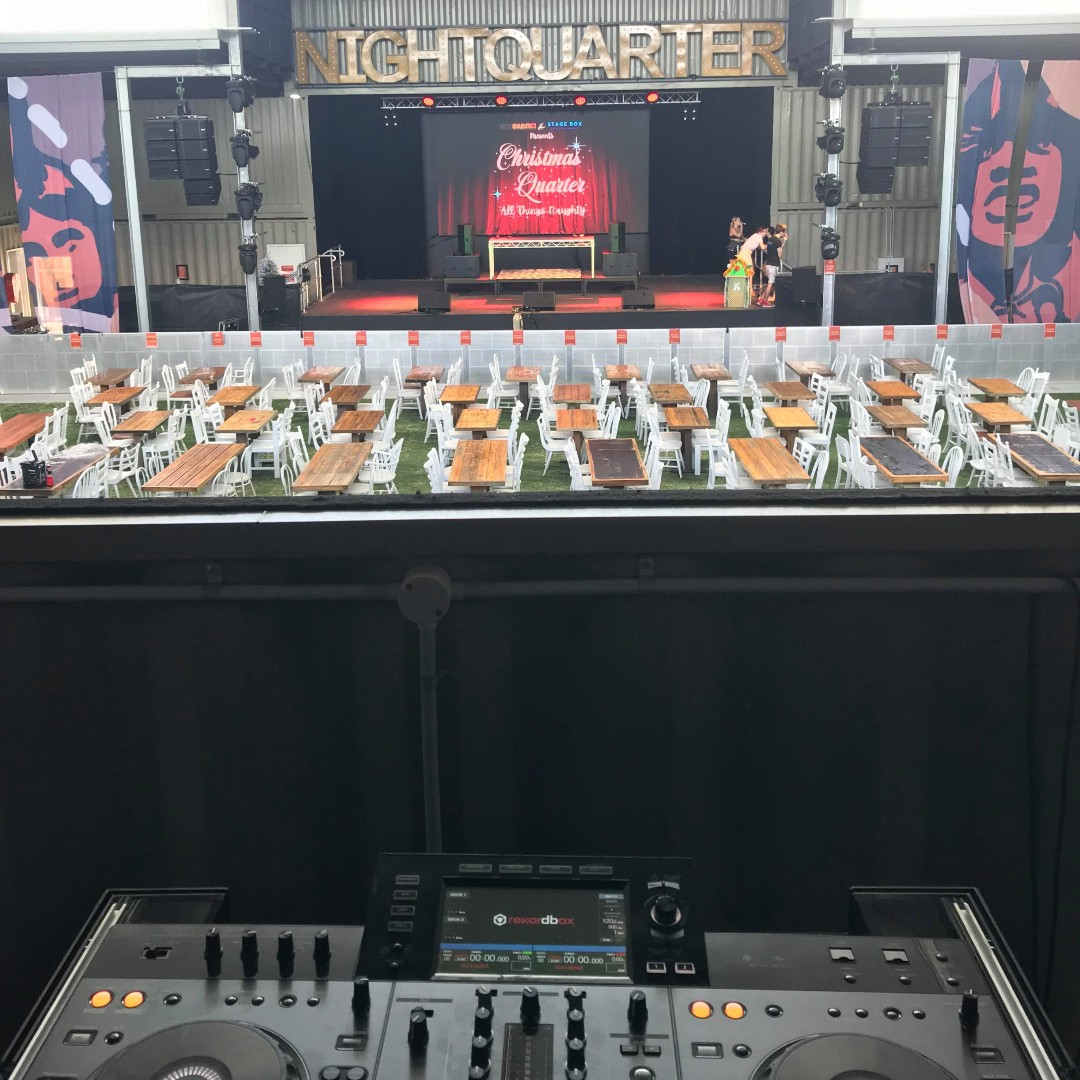 Nightquarter Function DJ Decks | AV Hire