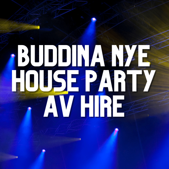 Buddina New Year's Eve Party | AV Hire