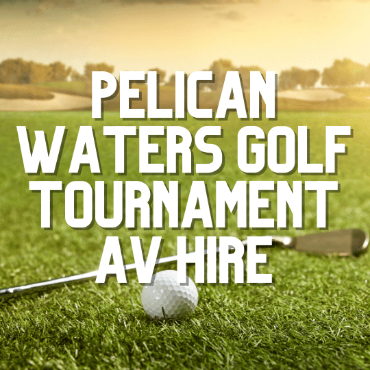 Pelican Waters Golf Course Beer Garden PA | AV Hire