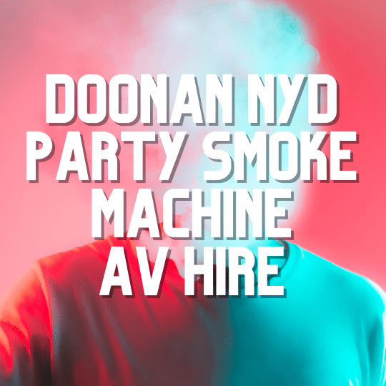 Doonan NYD Party Smoke Machine | AV Hire