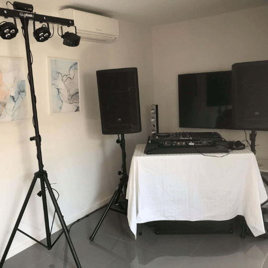Mountain Creek 30th Birthday DJ Package | AV Hire
