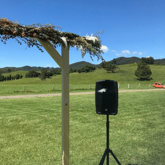 Obi Obi Hall Wedding | AV Hire