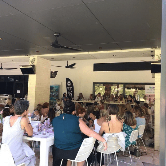 Fish Parkridge Noosa International Women's Day | AV Hire