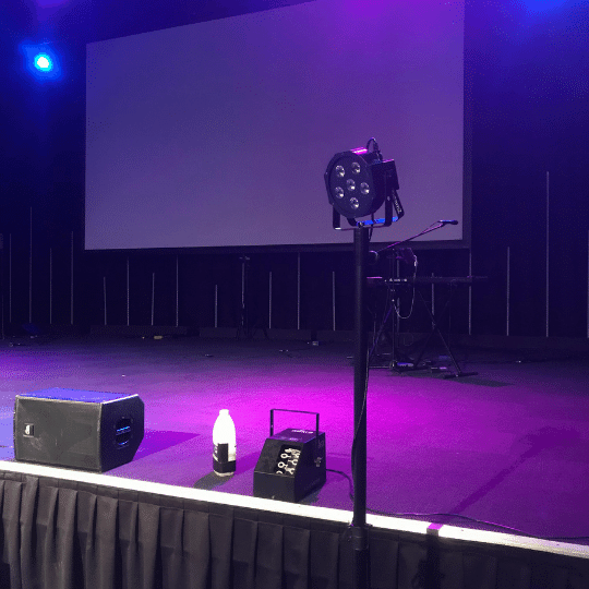 Calvary Church Glow Party | AV Hire