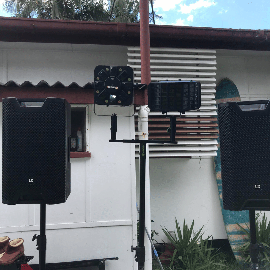 Coolum 25th Birthday House Party | AV Hire