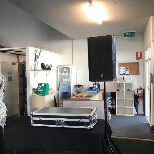 Crossfit Mooloolaba Party PA System | AV Hire