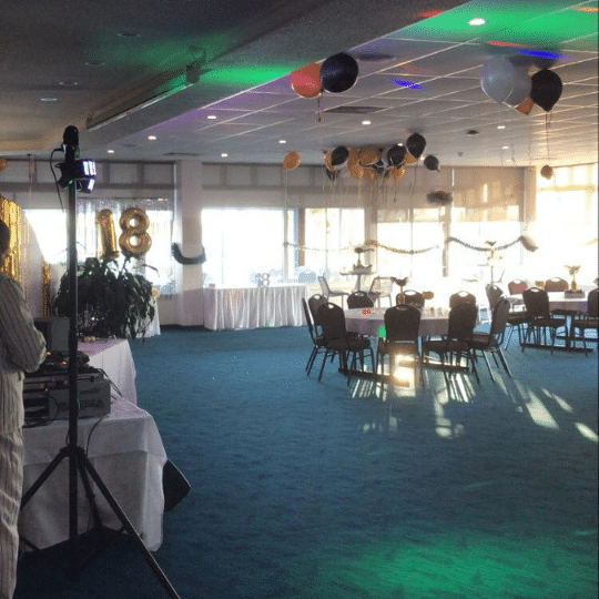 Caloundra Powerboat Club 18th Lighting | AV Hire