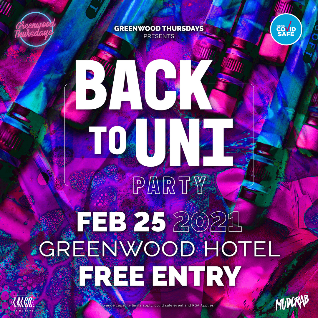 Back to Uni Party 2021