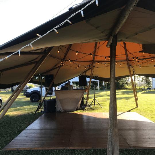 Eumundi Wedding DJ Setup | AV Hire