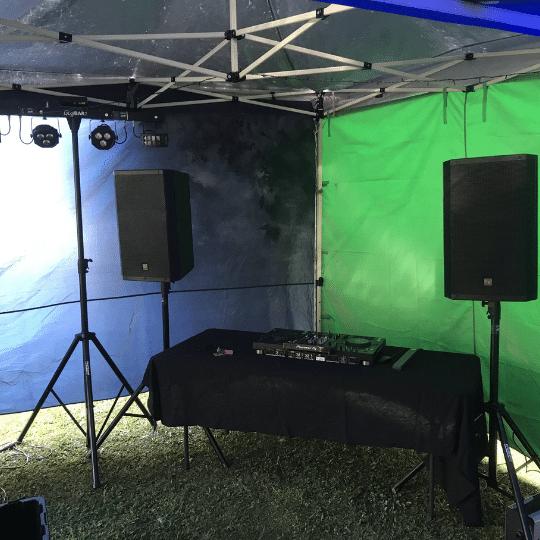 Coolum 21st Birthday DJ Setup | AV Hire