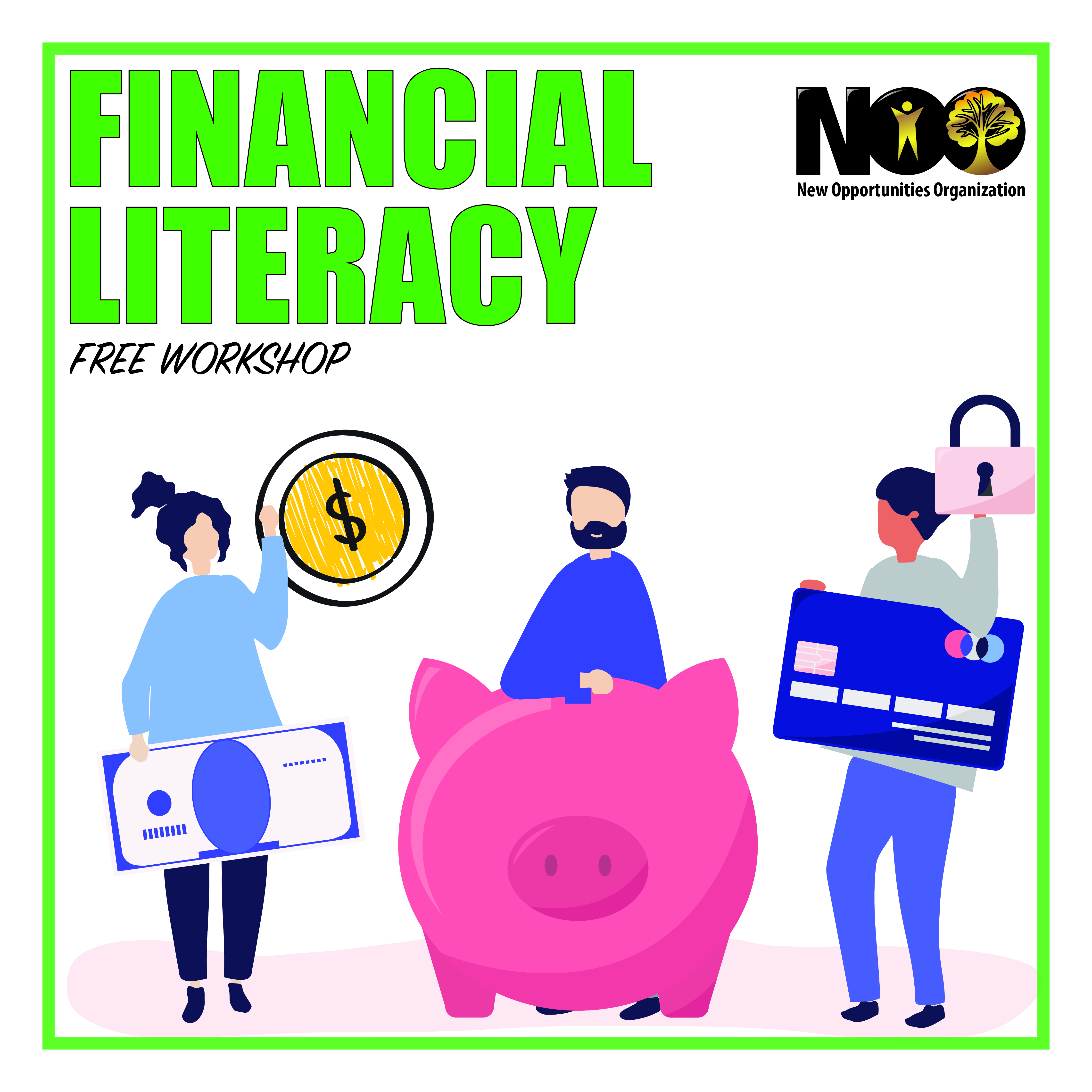 Our friends from The National Financial Literacy Campaign will be presenting in our next Community Connection Workshop.