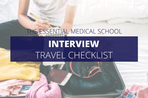 The Essential Medical School Travel Checklist