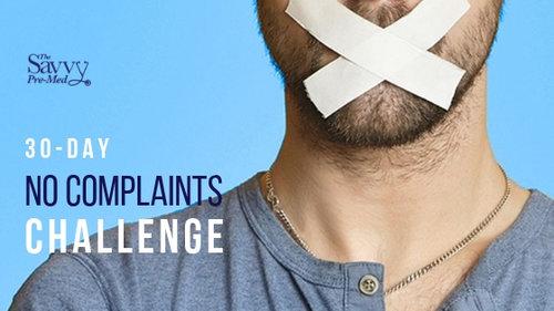 """30 Days """"No Complaints"""" Challenge"""