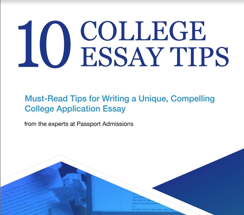 10 College Essay Tips