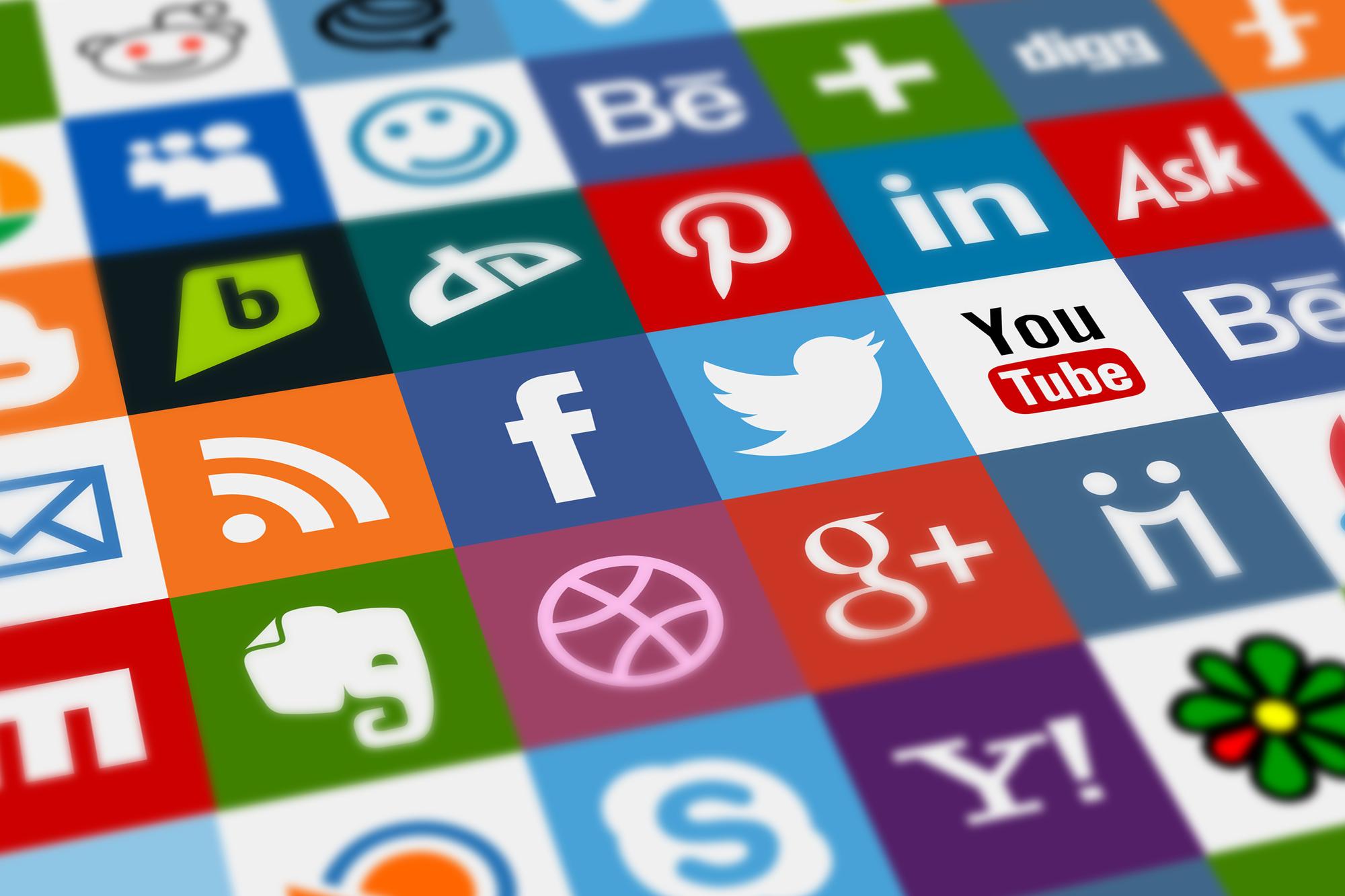 Social Media Management | Social Media Icons