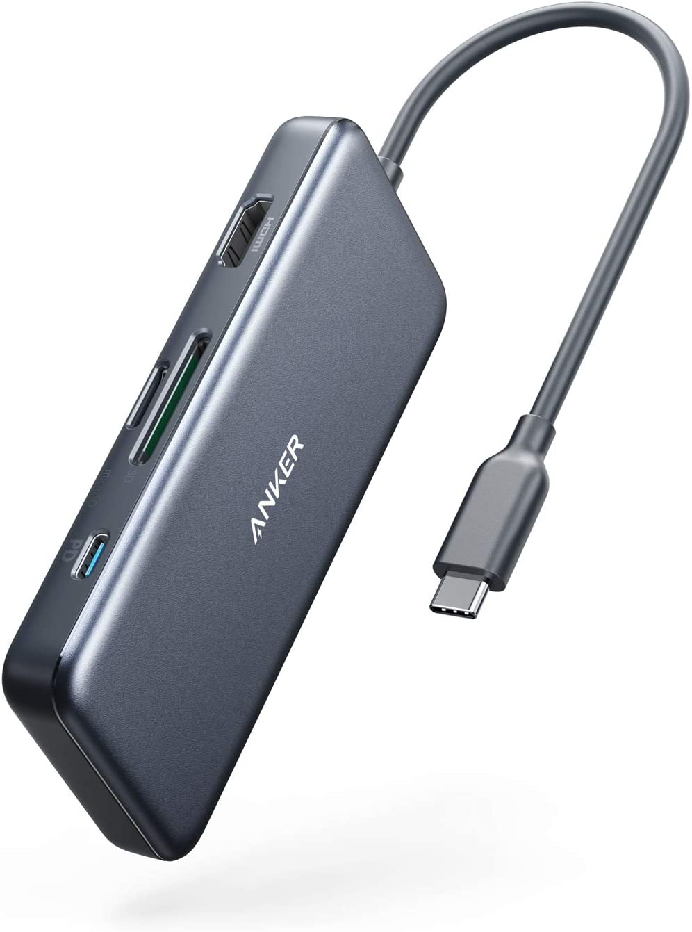 USB C Hub, 7-in-1 USB C Adapter