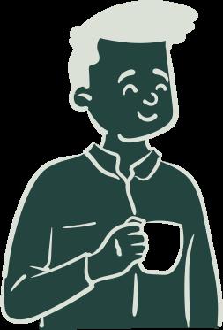 Illustration représentant le persona washer de l'application iZclean