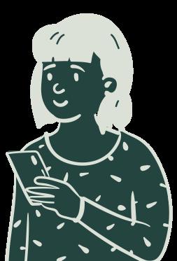 Illustration représentant le persona utilisateur de l'application iZclean