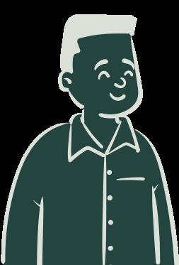 Illustration représentant le persona administrateur de l'application iZclean