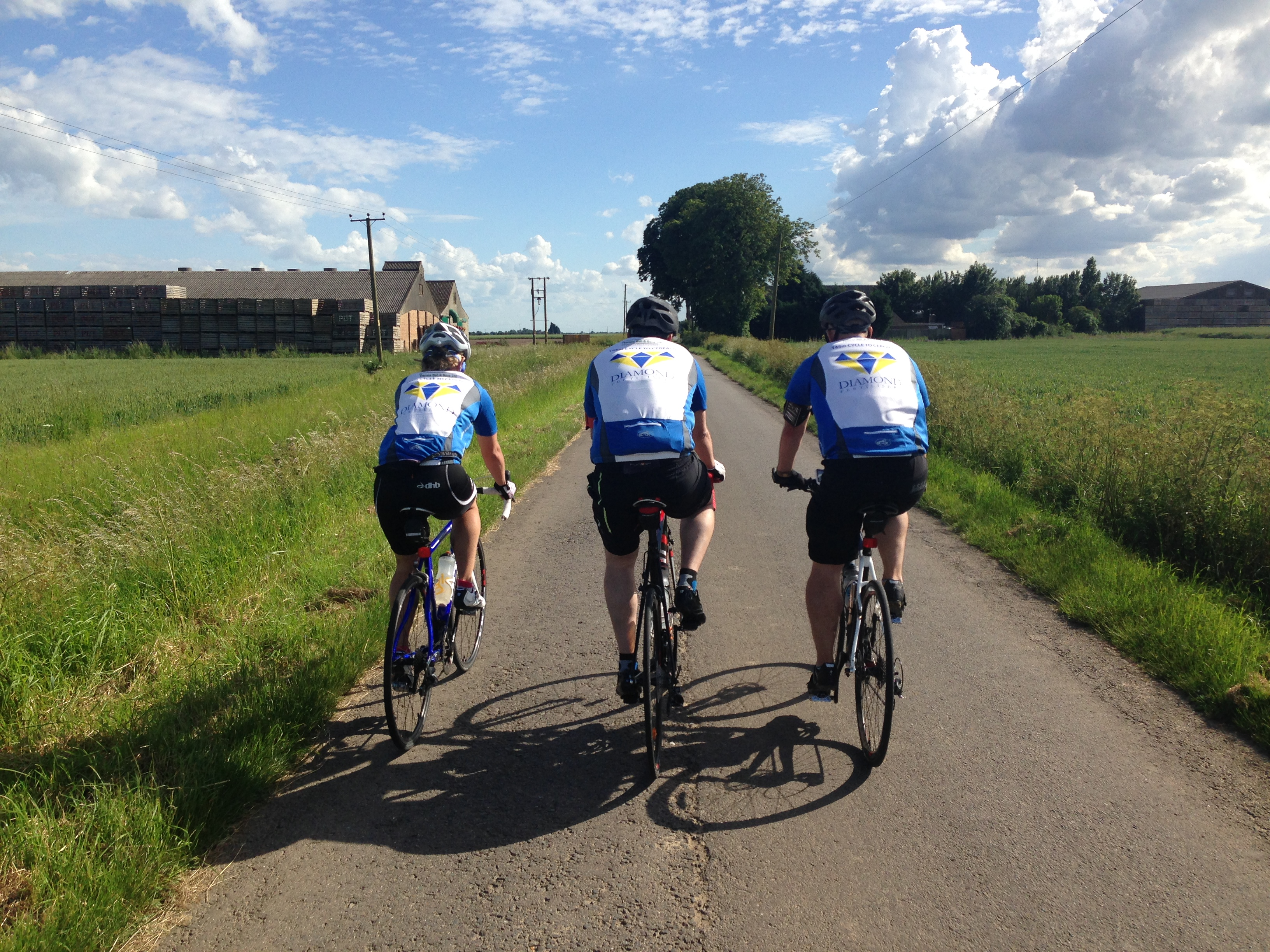 thomas bell charity bike ride to Cereals