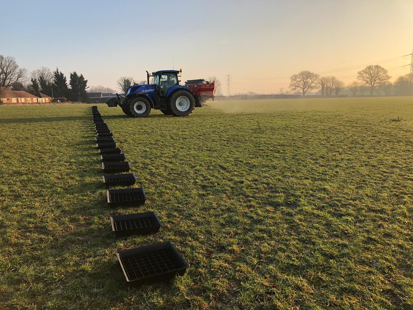scs spreader calibration thomas bell diamond fertilisers