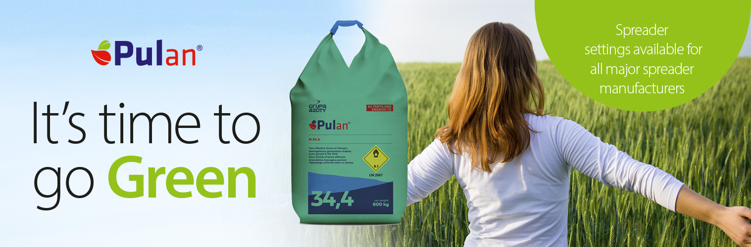 It's time to go green and choose Pulan Ammonium Nitrate
