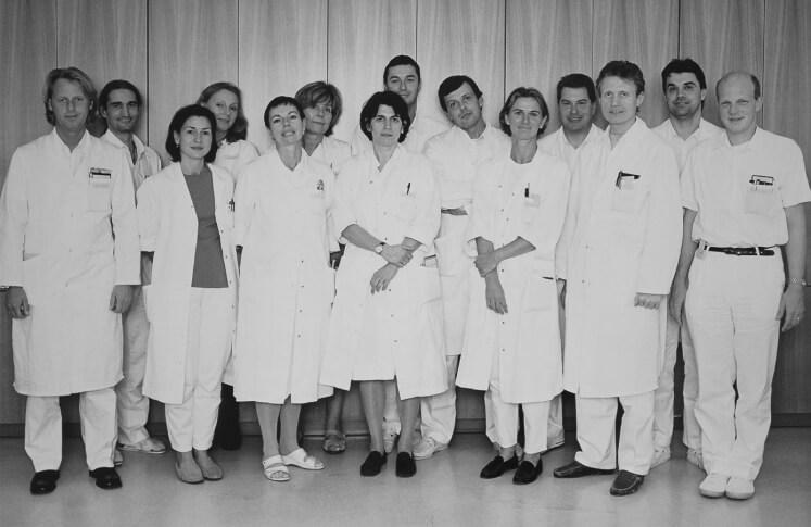 Team der 2. Chirurgie des Wilhelminenspitals