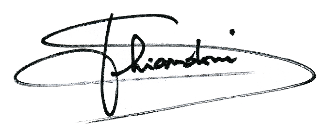 Salvatore Ghiandoni signature