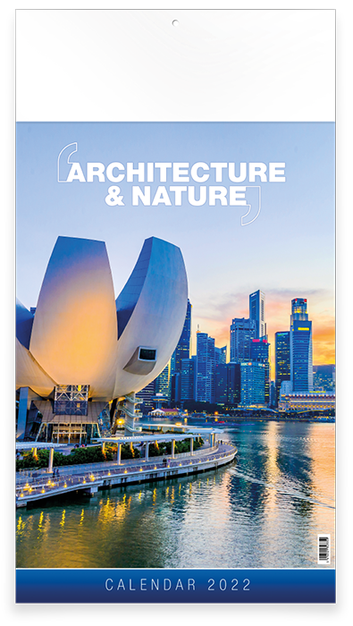 Architecture & Nature - 12 feuillets avec couverture