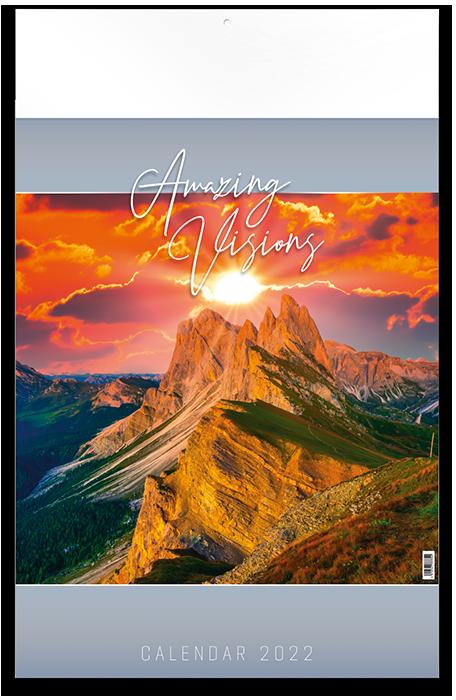 Amazing Visions - 12 feuillets avec couverture