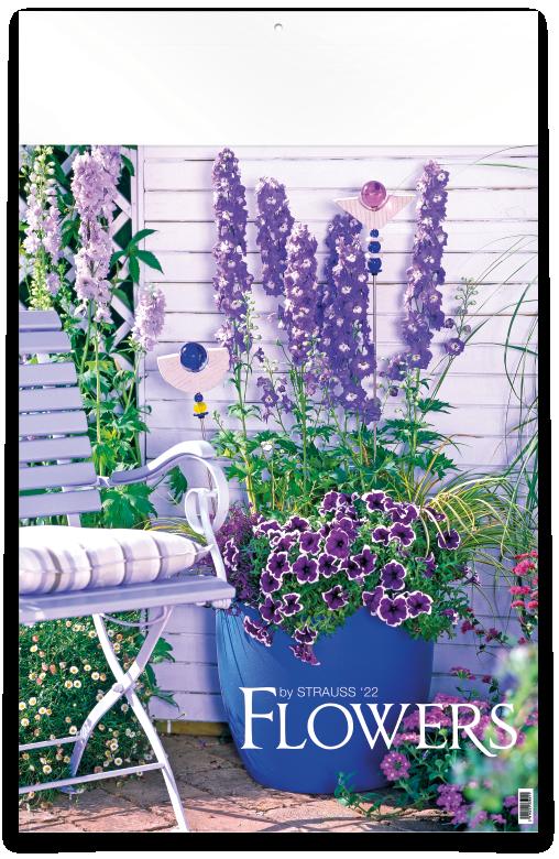 Flowers - 12 feuillets avec couverture