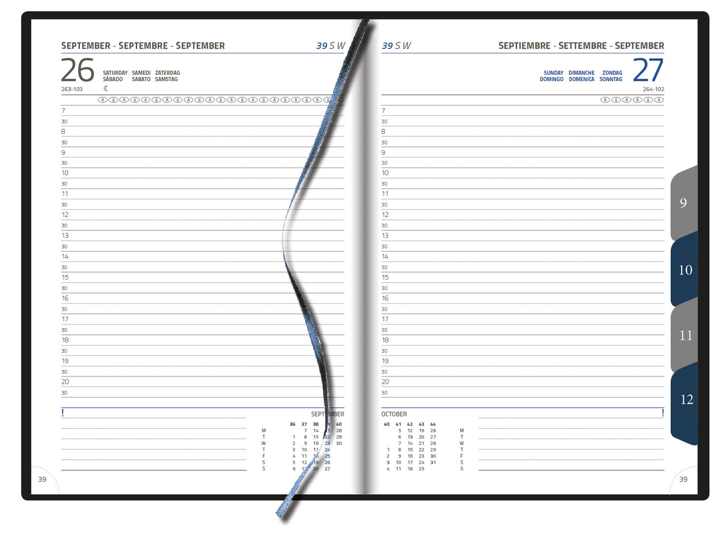 Directeur - Office diary