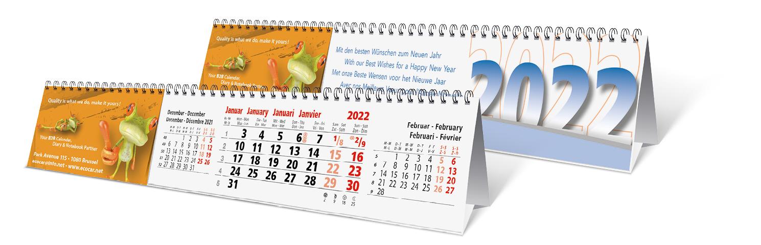 Screen Desk Calendar - CB 0630