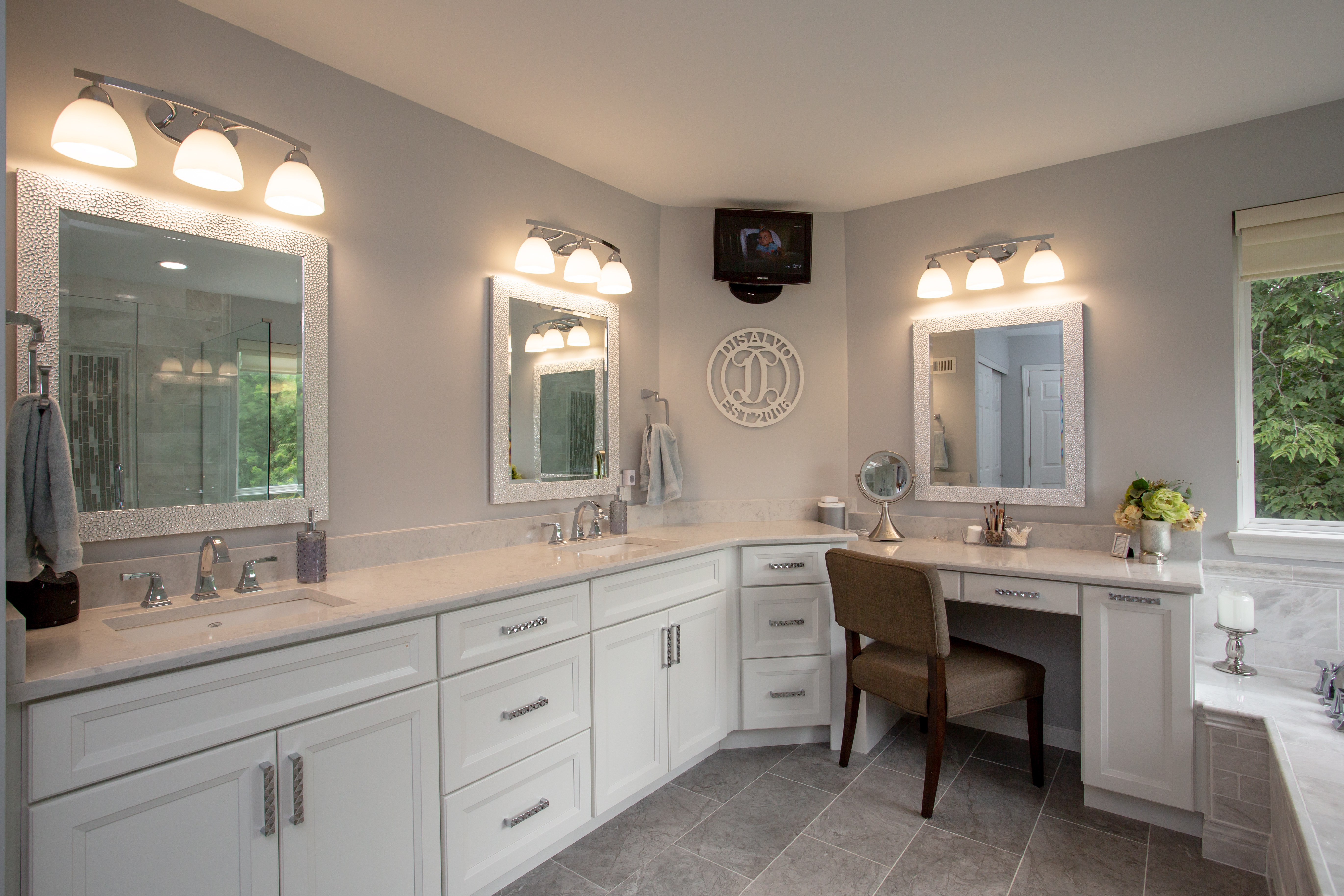 A Luxurious Master Bath, Designed With Decluttering In Mind