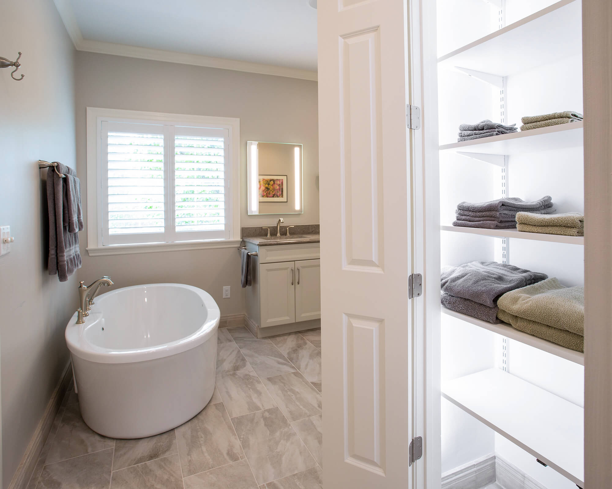 Retired couple turns to Aptitude to improve bathroom functionality