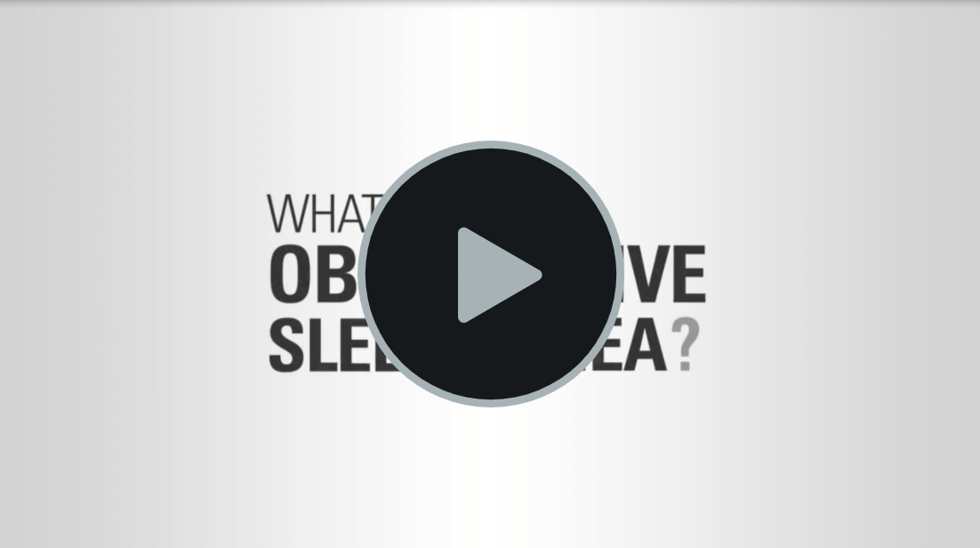 Video: What is Obstructive Sleep Apnoea. Click to play