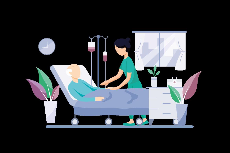 Illustration anesthésie et covid-19