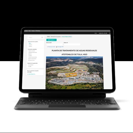 Plataforma de generación de reportes