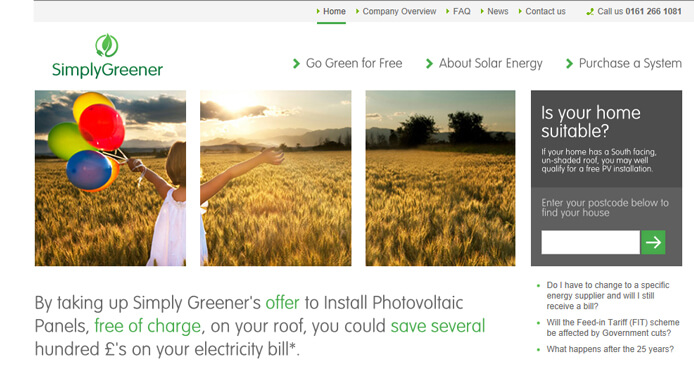 simplygreener website