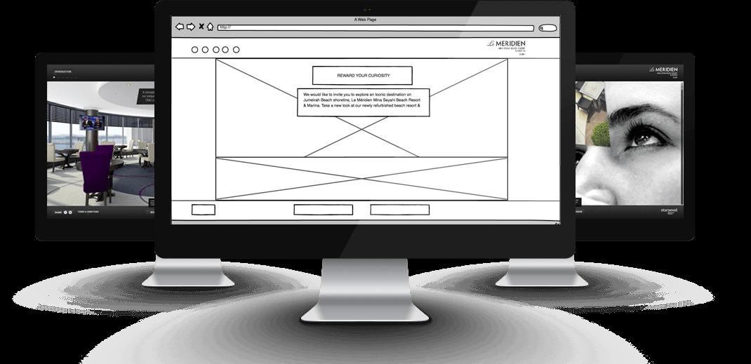 mina seyahi website design