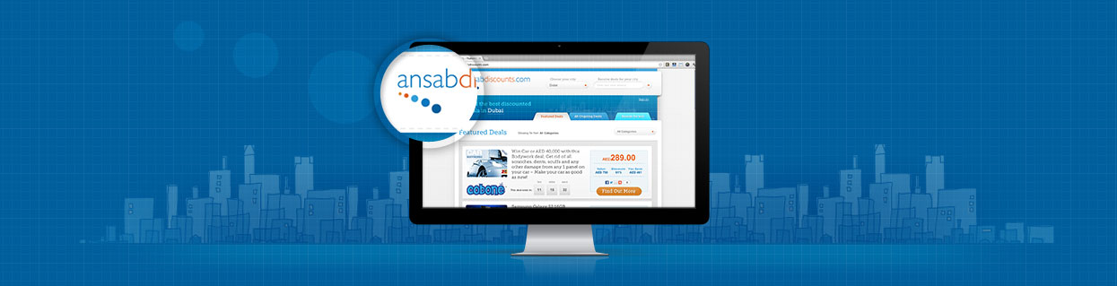 ansab discounts website case study banner