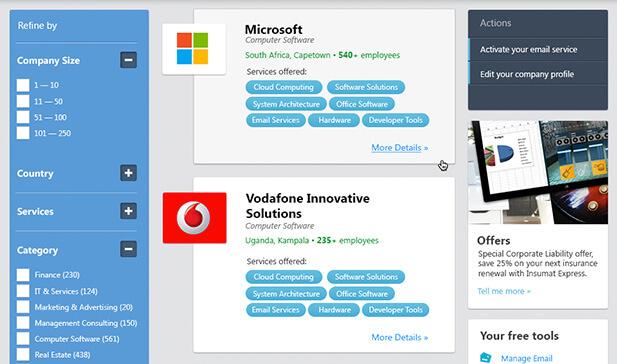 microsoft biz4afrika screenshot 1