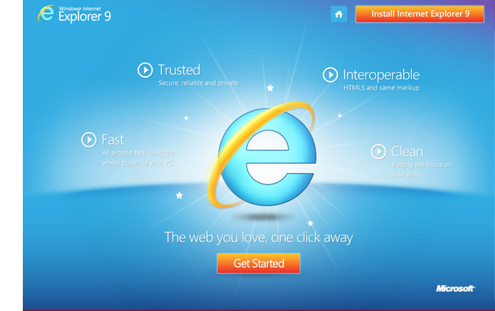 internet explorer 9 multimedia cd case study banner